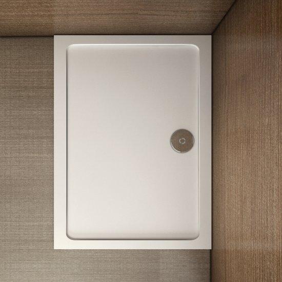 aica receveur de douche 70x90cm estra plat rectangulaire. Black Bedroom Furniture Sets. Home Design Ideas
