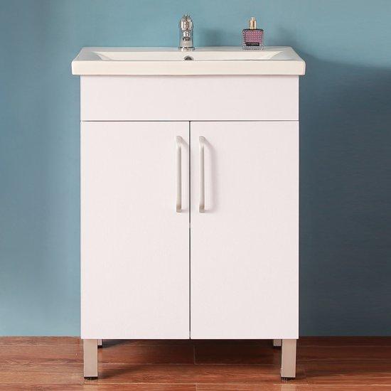 Meuble de salle de bain modèle de Anlovi 580x380x824cm Ensemble meuble et  vasque [Y-106A+Y-T101B] - AICA - Grand choix au petit prix - Paroi de ...