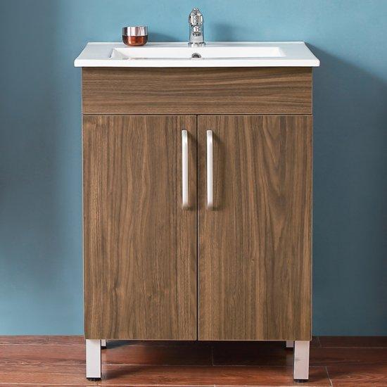 Meuble de salle de bain modèle de Anlovi 580x380x824cm Ensemble ...