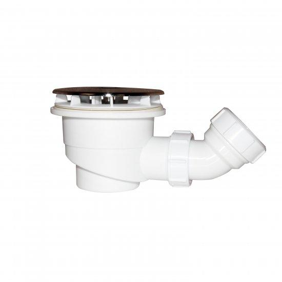 bonde de receveur bonde de douche 90 mm avec le siphon 90cm bonde de douche haut d bit extra. Black Bedroom Furniture Sets. Home Design Ideas