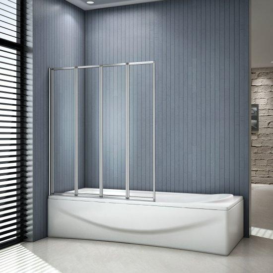 aica 1000x1400x4mm pare baignoire cran de baignoire. Black Bedroom Furniture Sets. Home Design Ideas