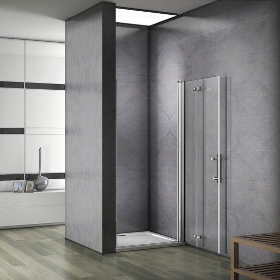 porte de douche charnire installation en niche verre scurit agrandir limage