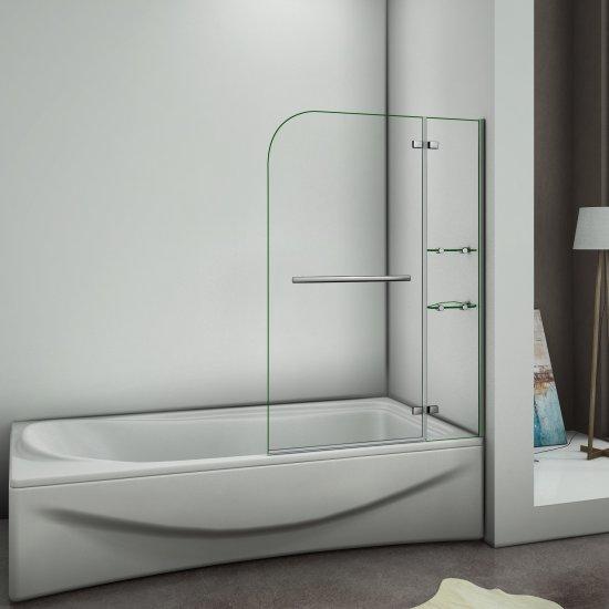 900x1400x5mm paroi de douche pare de douche pivotant. Black Bedroom Furniture Sets. Home Design Ideas