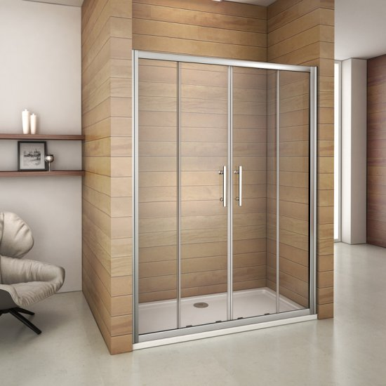 aica porte de douche coulissante 120x185cm paroi de douche verre s curit transparent. Black Bedroom Furniture Sets. Home Design Ideas