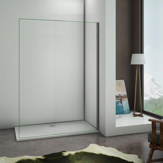 aica paroi de douche 1600x2000x8m paroi de douche l 39 italienne verre anticalcaire paroi de. Black Bedroom Furniture Sets. Home Design Ideas
