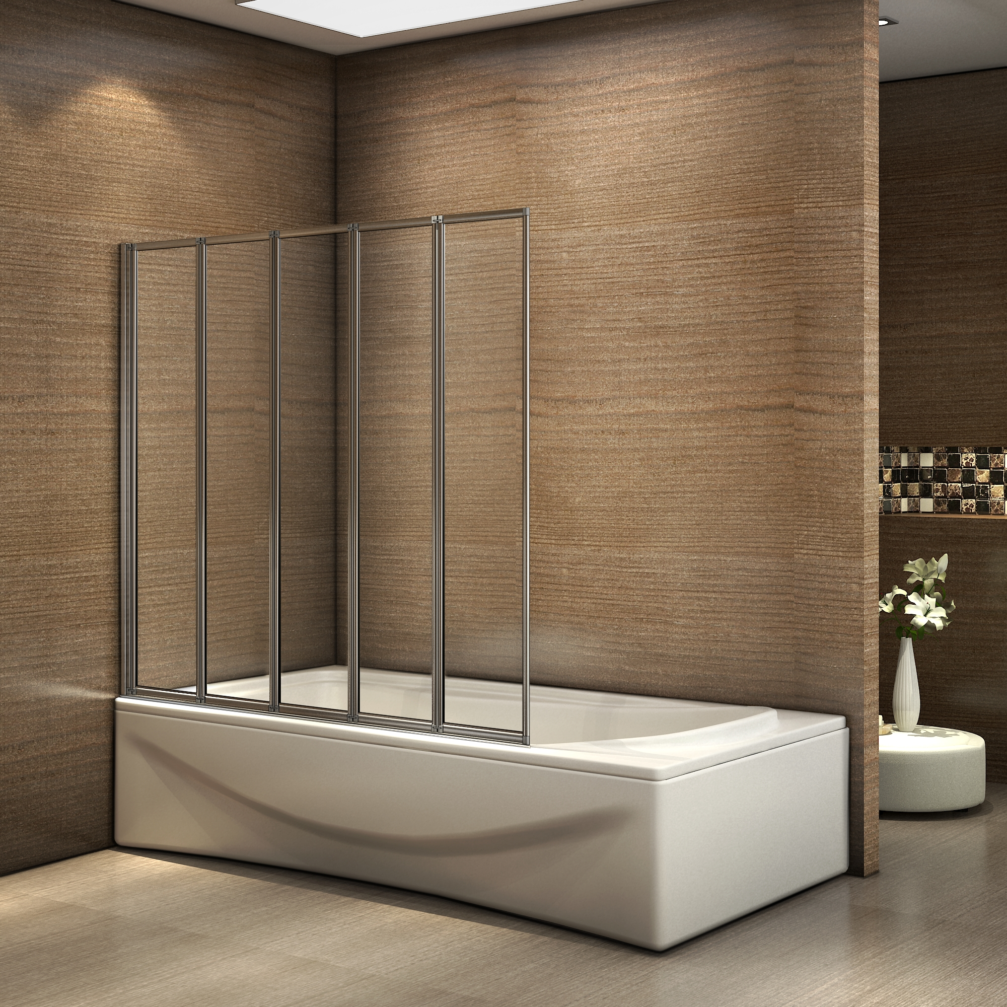 aica 1200x1400x4mm pare baignoire cran de baignoire. Black Bedroom Furniture Sets. Home Design Ideas
